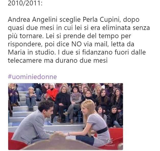 Uomini e Donne Story Scelta (1)