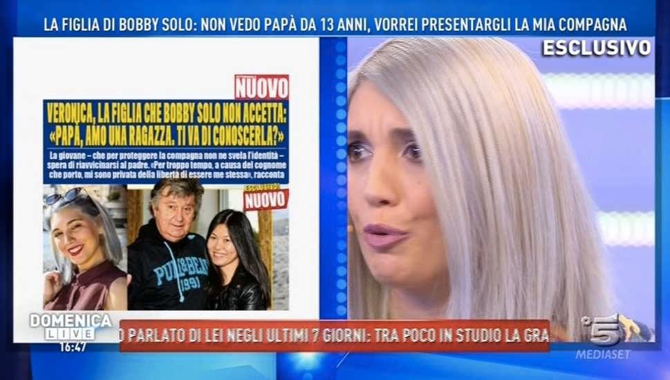 Veronica Satti Bobby Solo Gay Lesbica