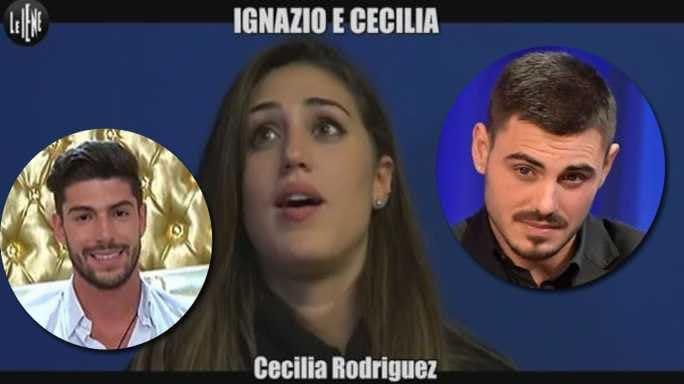 Cecilia Rodriguez Francesco Monte e Ignazio Moser