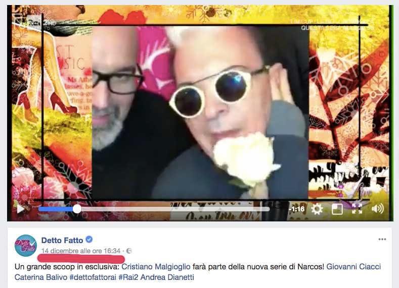Cristiano Malgioglio Narcos