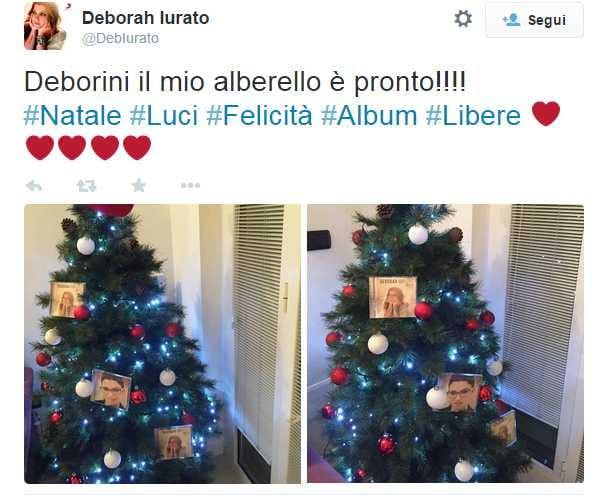 Deborah Iurato Albero di Natale