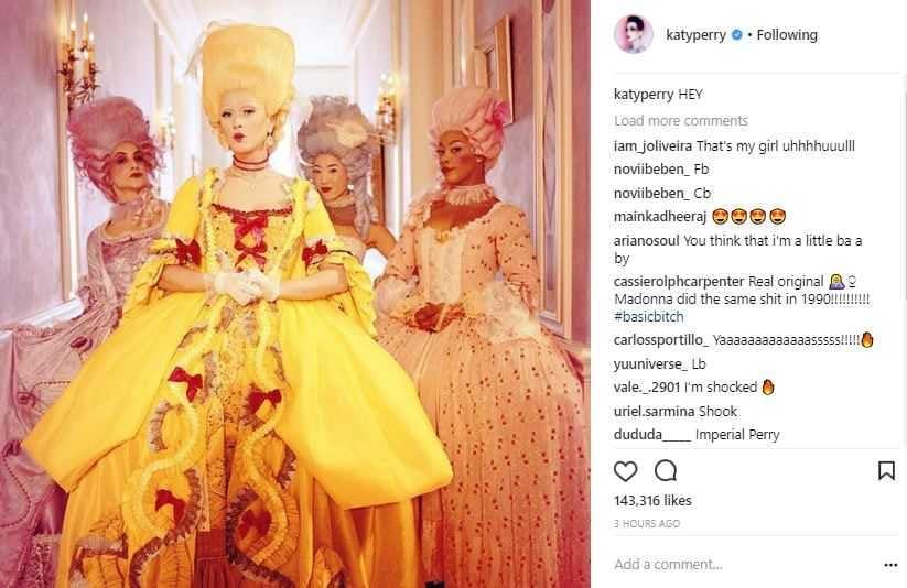 Katy Perry Hey Hey Hey Video Instagram (2)