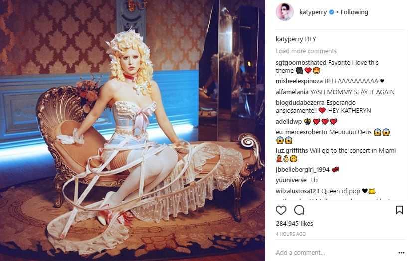 Katy Perry Hey Hey Hey Video Instagram (3)