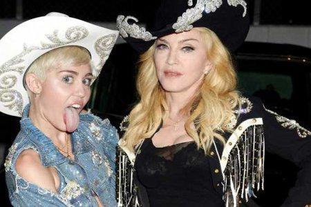 Miley Cyrus e Madonna demo Like Madonna