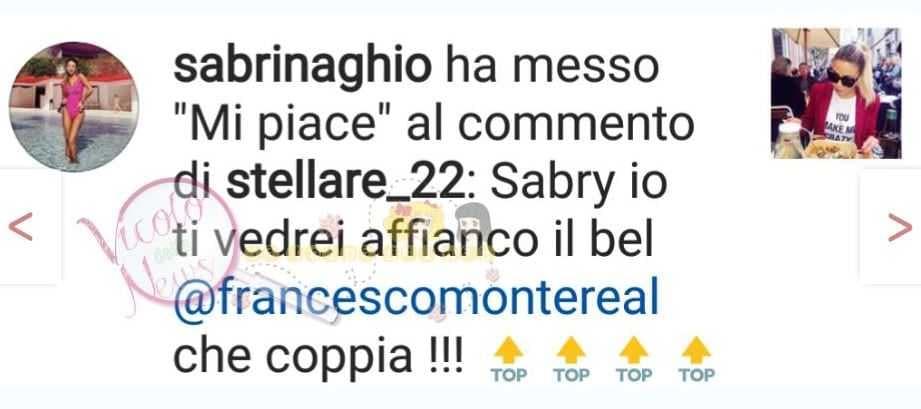 Sabrina Ghio e Francesco Monte