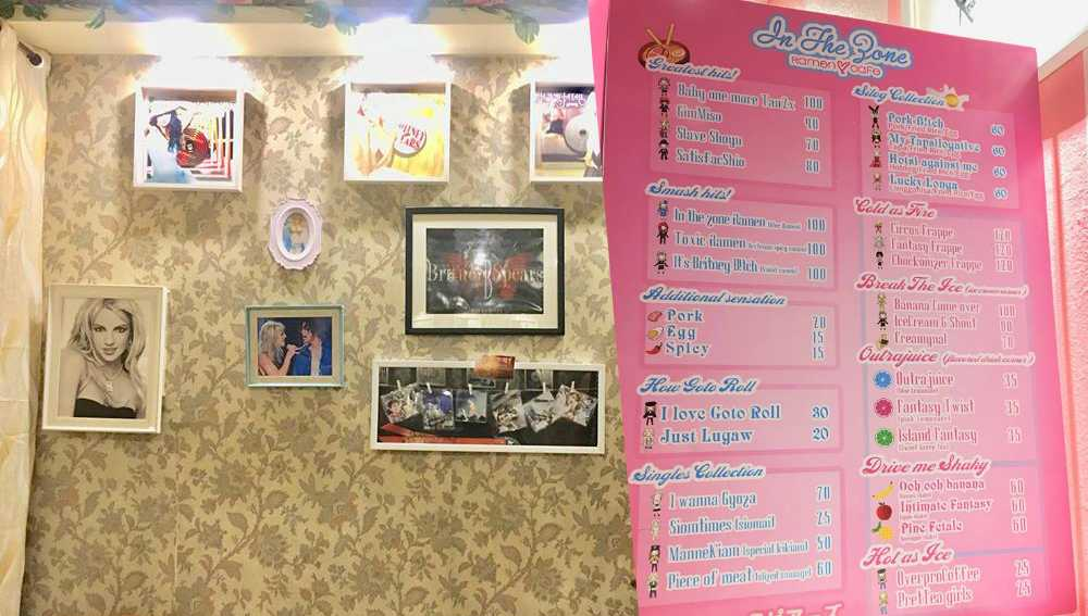 britney spears cafe