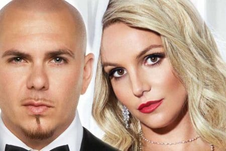pitbull britney spears santos hey ma