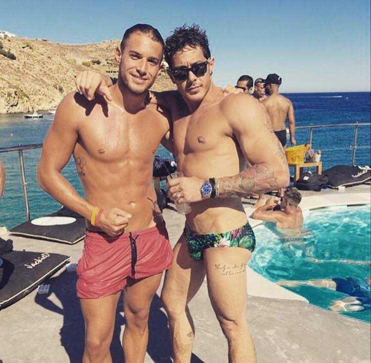 Alex Di Giorgio e Nicolo Mantovani