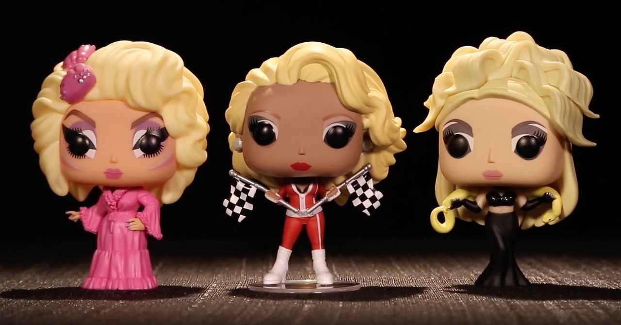 Funko Pop Vinyl RuPaul's Drag Race Series - Trixie Mattel, RuPaul, Alaska