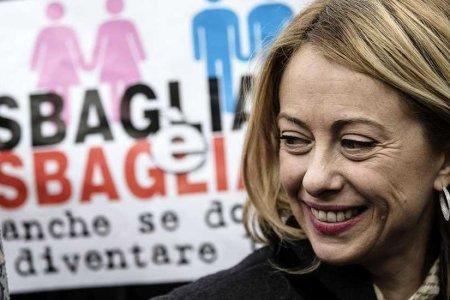 Giorgia Meloni omofobia