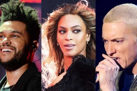 The Weeknd Beyonce Eminem