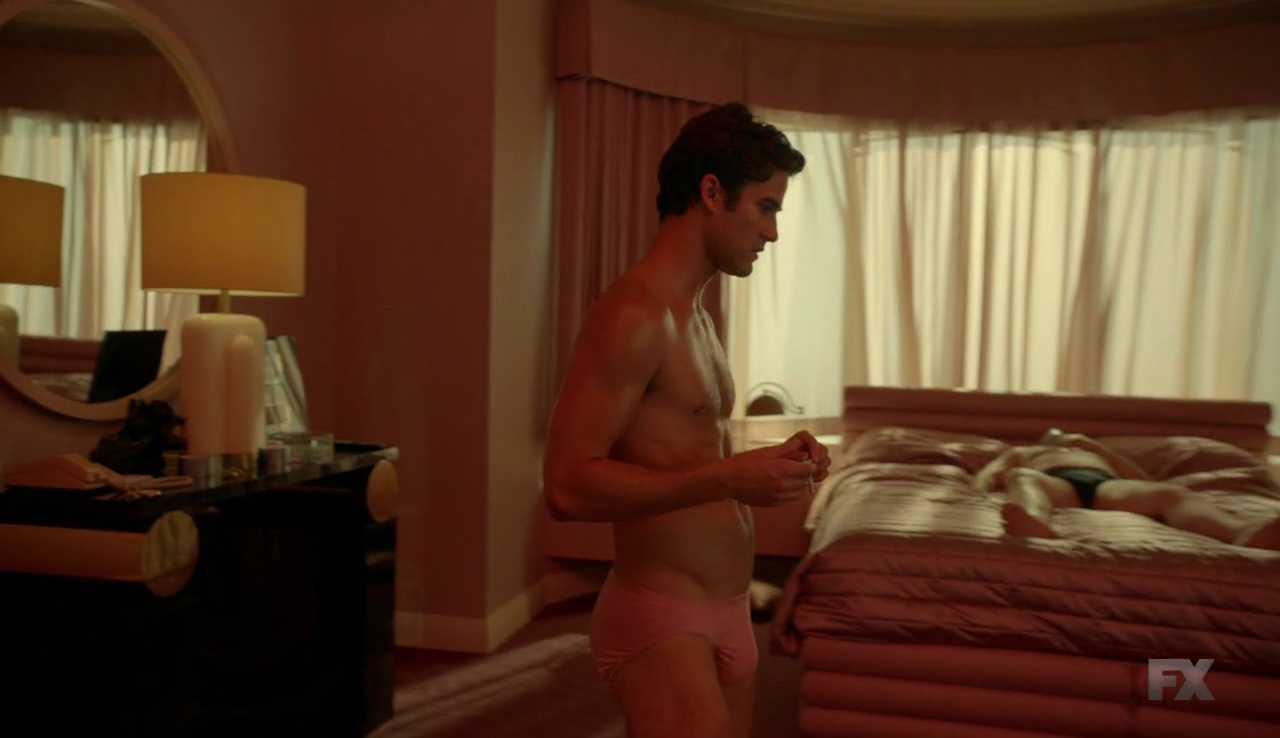 darren criss underwear the assassination of gianni versace
