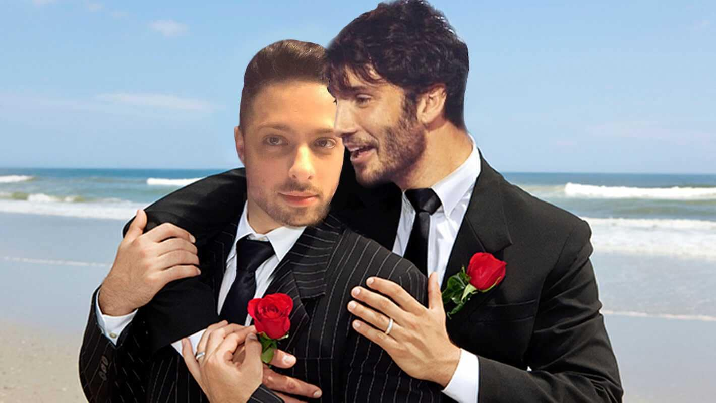gay wedding stefano de martino fabiano bitchy matrimonio