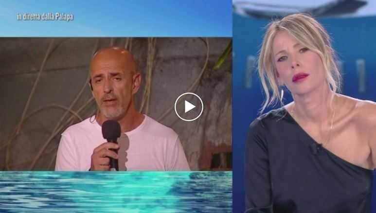 Andrea Marchi e Alessia Marcuzzi Isola dei Famosi