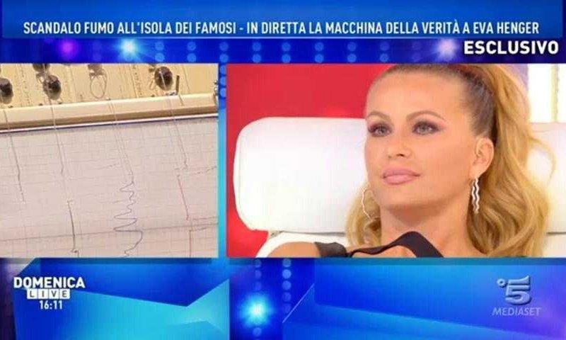 Domenica Live Eva Henger Macchina Della Verità