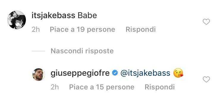 Giuseppe Giofre Jake Bass