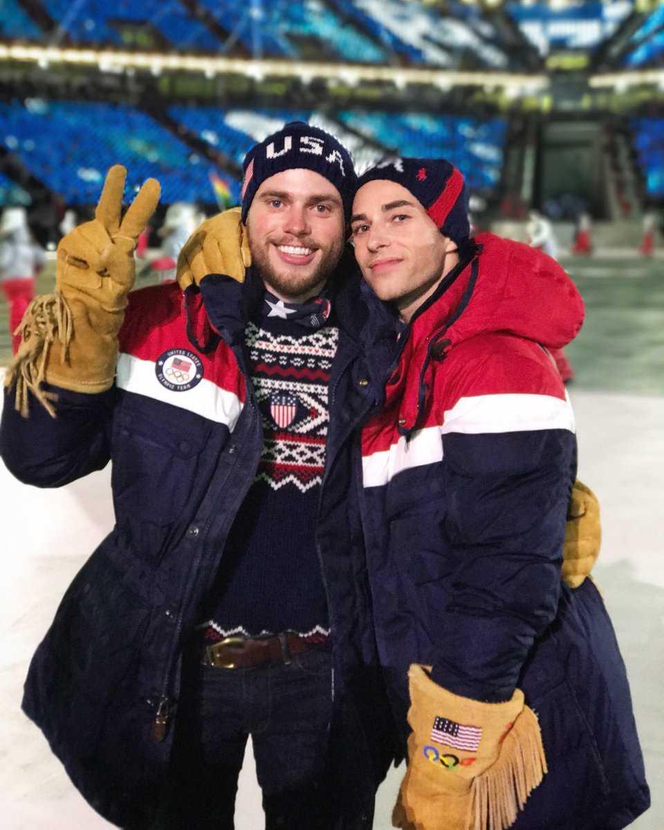 Gus Kenworthy e Adam Rippon