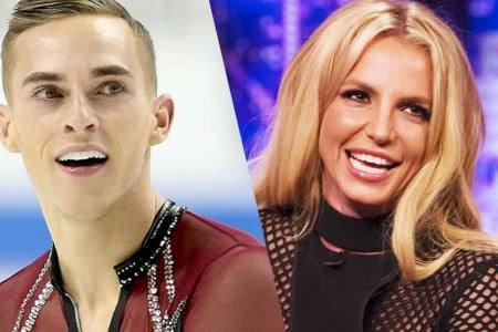 adam rippon gay britney spears