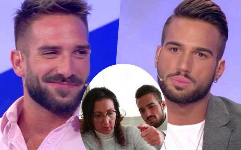 Alessandro-DAmico-e-Alex-Migliorini-mamma adriana
