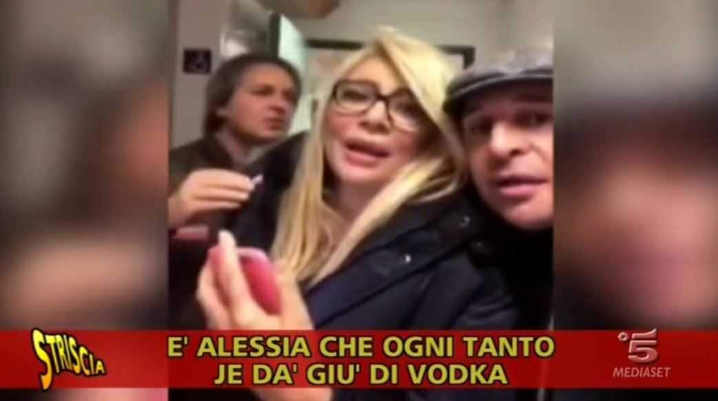 Alessia Marcuzzi Ubriaca Vodka (3)