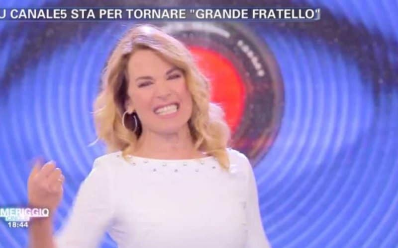 Barbara d'Urso conduce Grande Fratello 2018