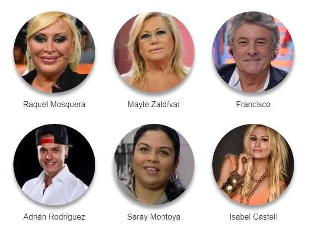 Supervivientes Cast 2018 (1)