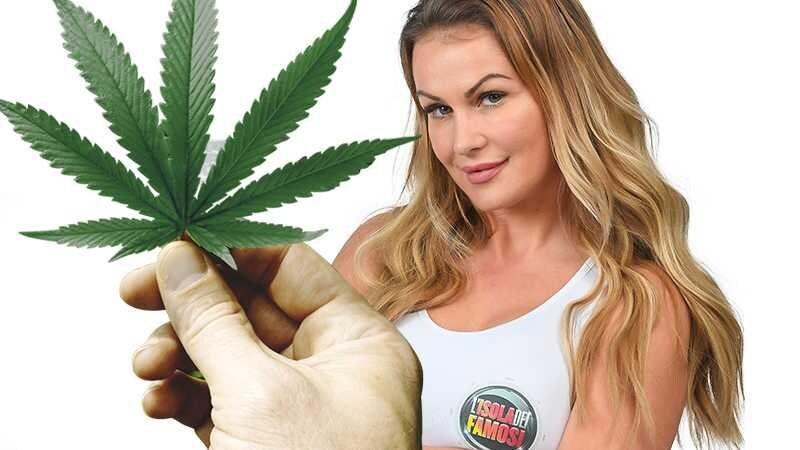 eva henger marijuana canne isola famosi filippo