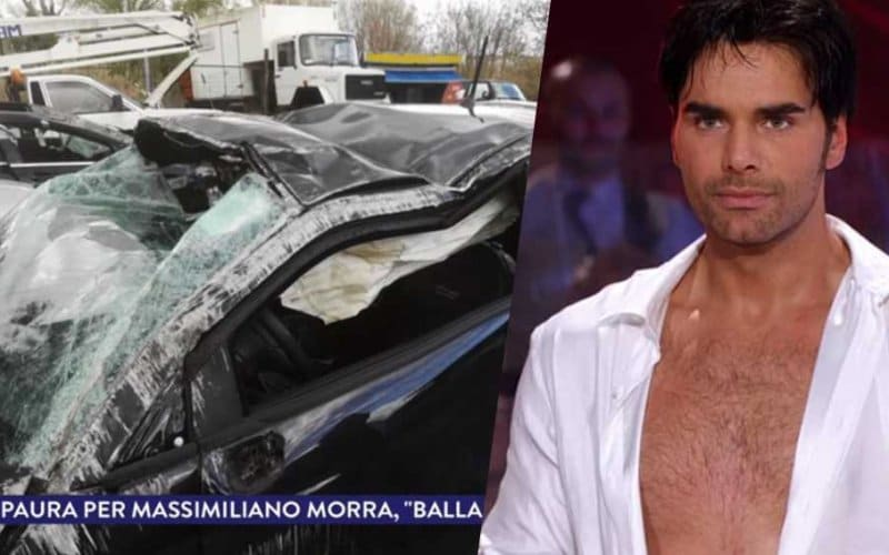 massimiliano morra incidente