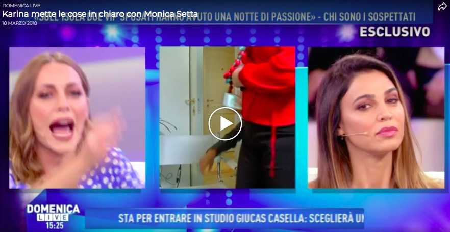 monica setta karina cascella video