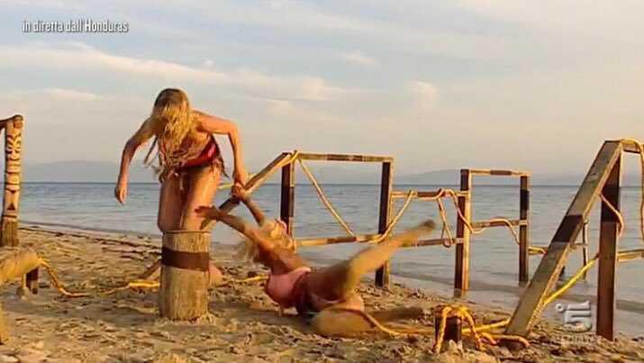 valeria marini francesca cipriani prova peor