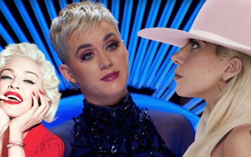 katy perry madonna lady gaga