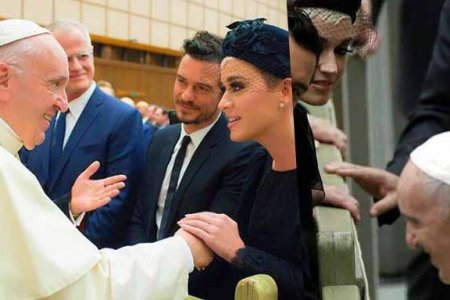 katy perry pope