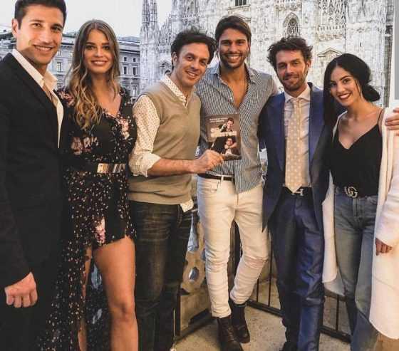 Gianmarco-Onestini-Ivana-Mrazova-Luca-Onestini-Gabriele-Parpiglia-Raffaello-Tonon-e-Giulia-De-Lellis-560x493
