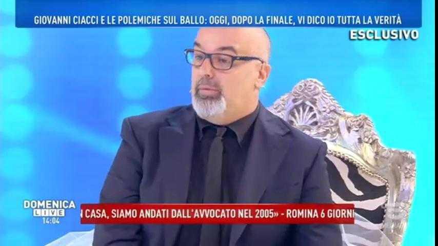 Giovanni Ciacci Domenica Live