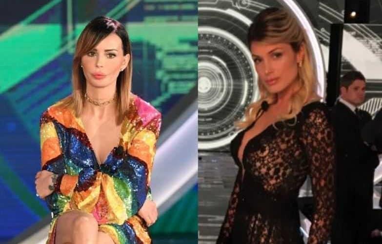 Nina Moric e Mariana Falace
