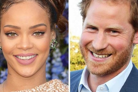 Rihanna e Principe harry