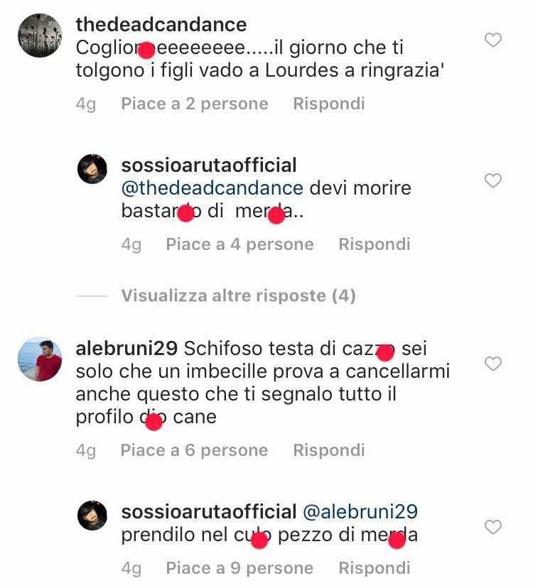 Sossio Aruta Insulti Instagram (1)