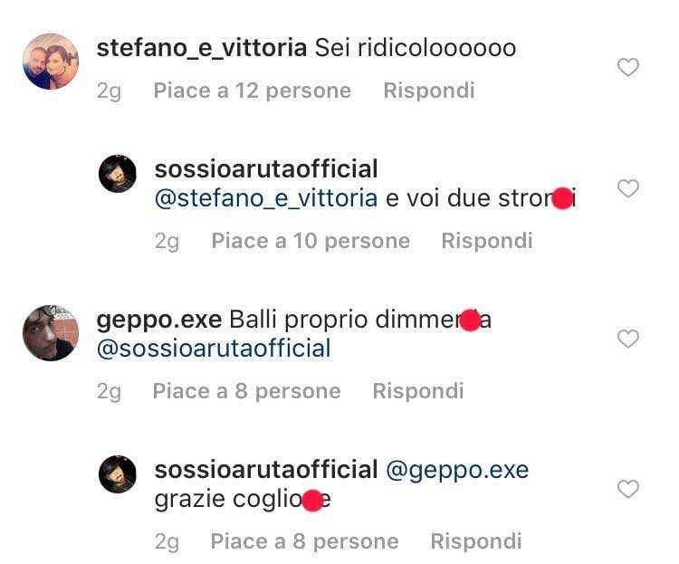 Sossio Aruta Insulti Instagram (4)