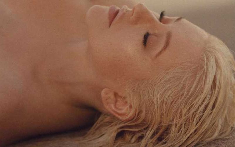 christina aguilera twice audio lyrics