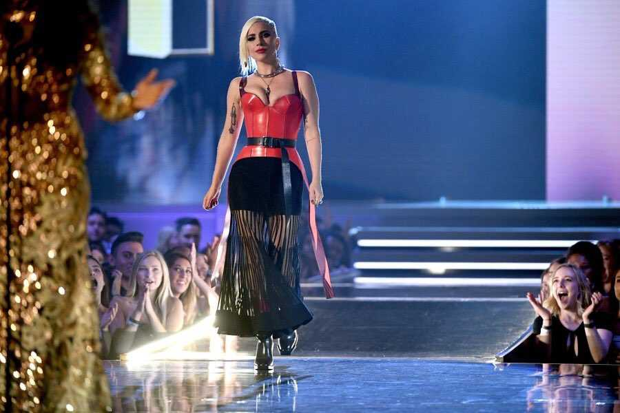 Lady Gaga MTV Movie & TV Awards Win