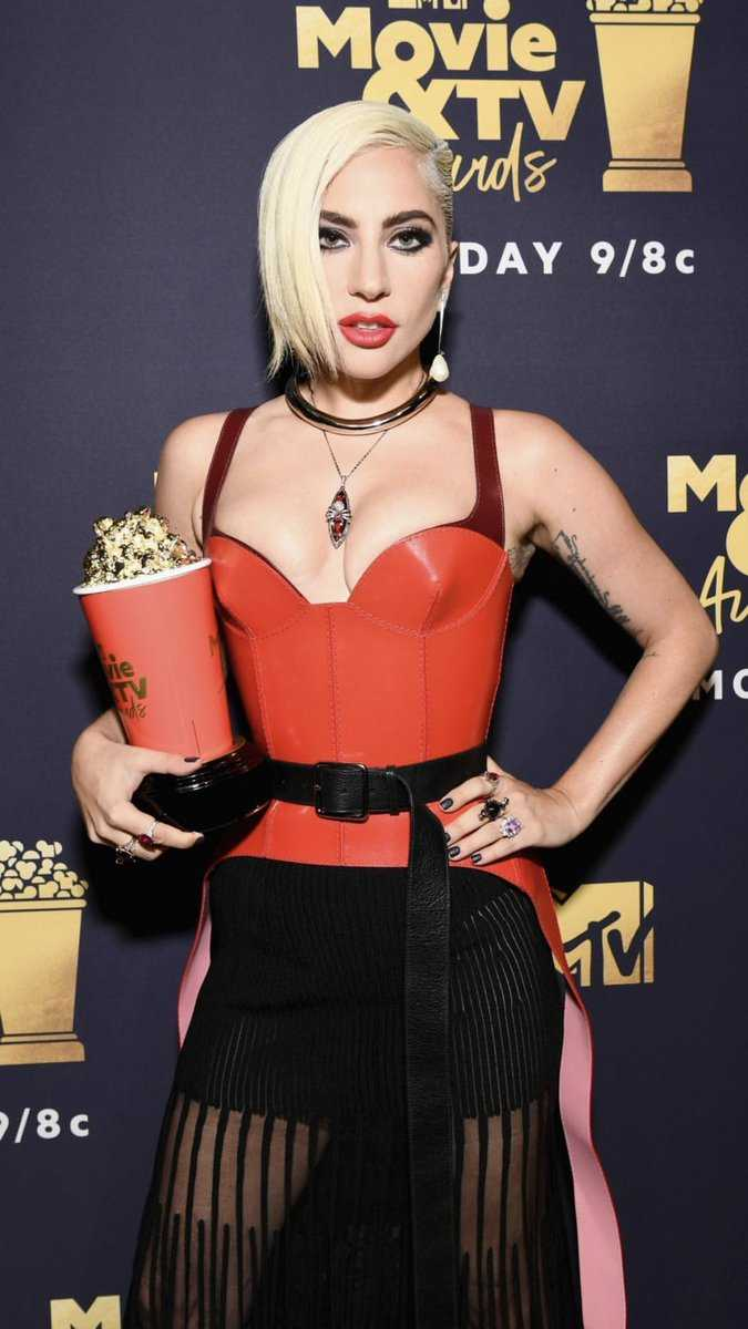 MTV Movie & TV Awards Lady Gaga