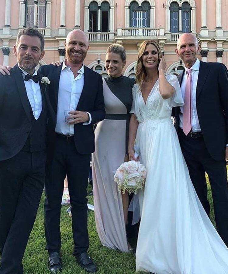 Matrimonio Bossari Lagerback : Matrimonio bossari ecco chi sono stati i ospiti del