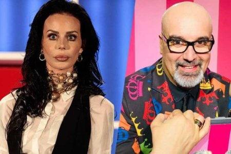 Nina Moric e Giovanni Ciacci