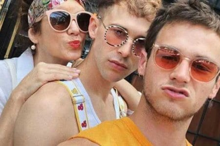 brandon flynn gay pride