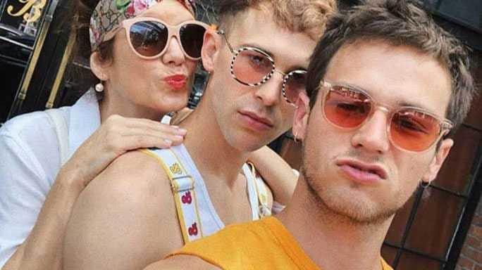 brandon flynn gay pride