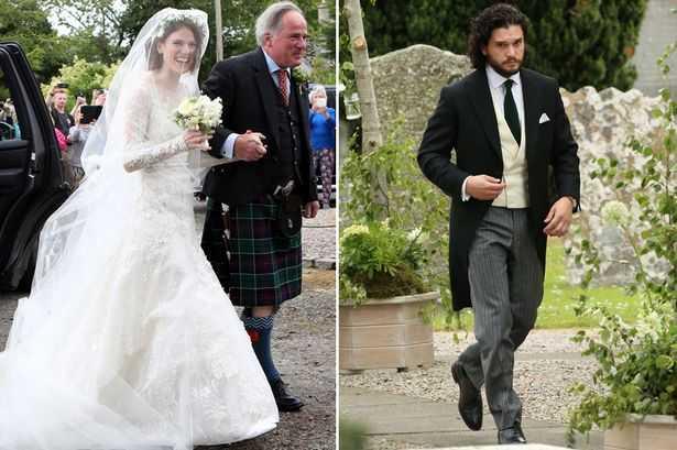 kit harington leslie rose wedding