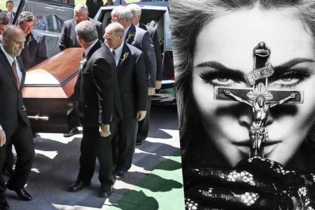 madonan girl gone wild funeral procession video