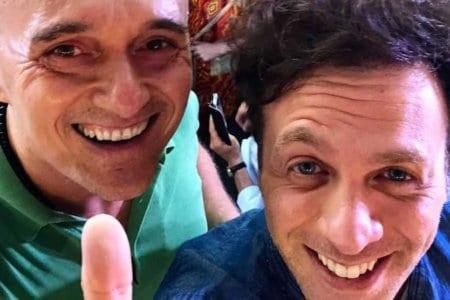 Alfonso Signorini e Gabriele Parpiglia