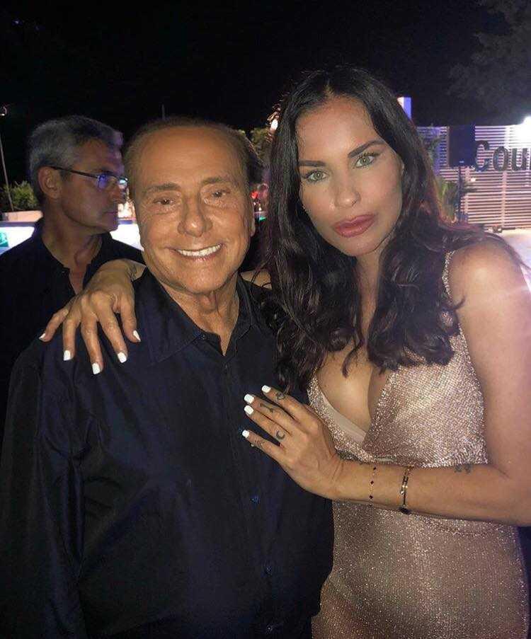 Antonella Mosetti Silvio Berlusconi