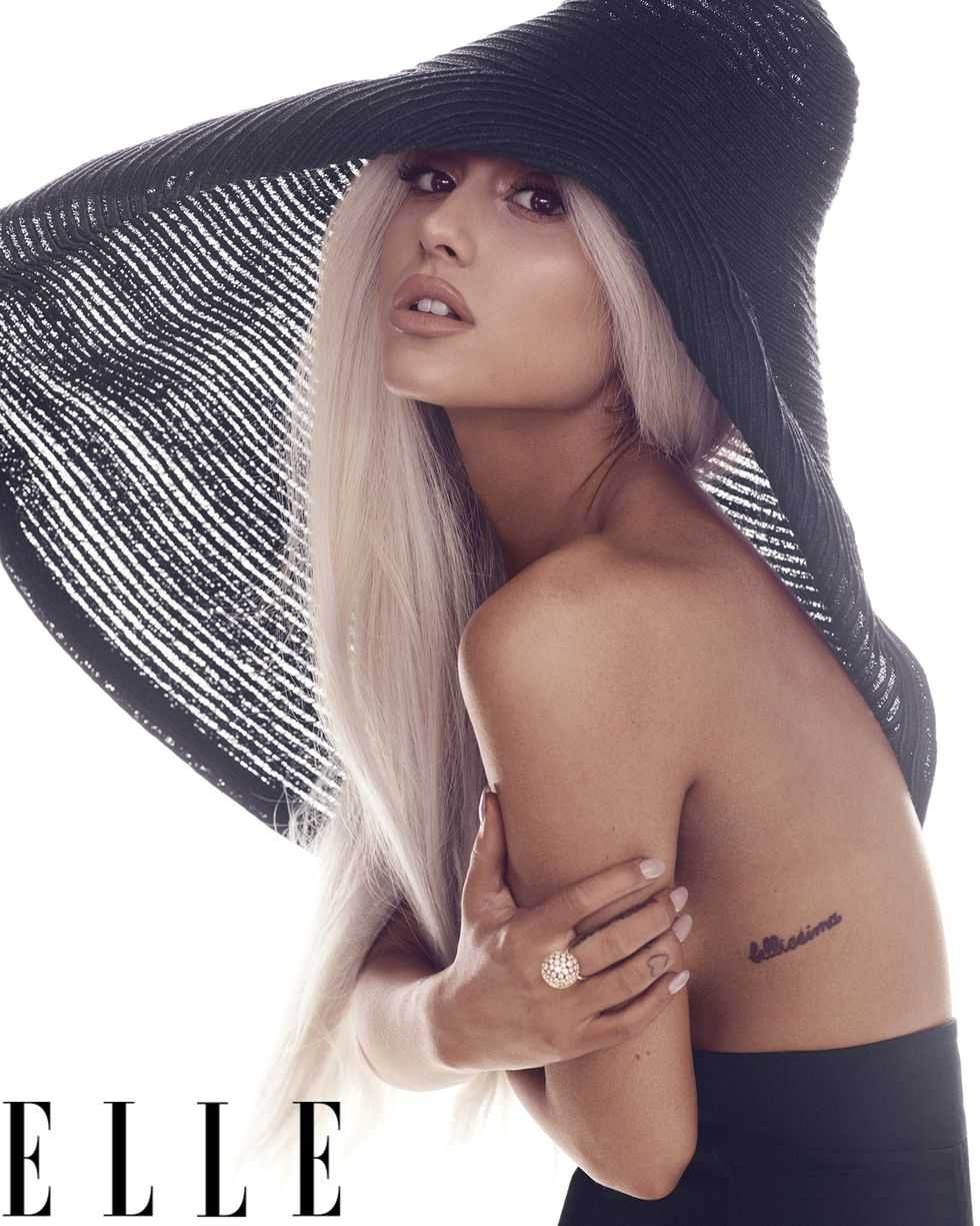 Ariana Grande Bellissima Tattoo